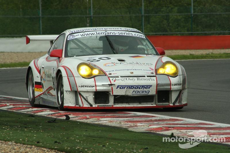 #80 Farnbacher Racing Porsche GT3 RSR: Lars-Erik Nielsen, Marco Seefried