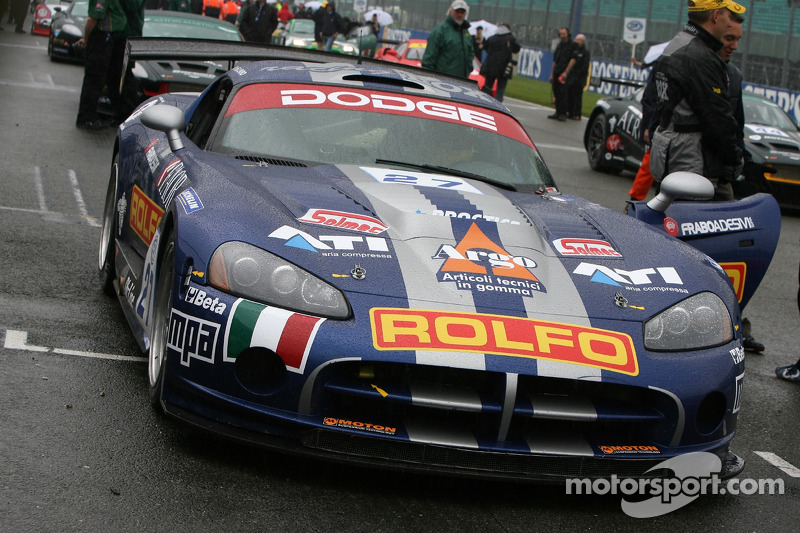#27 Racing Box Dodge Viper Coupe: Stefano Livio, Andrea Ceccato