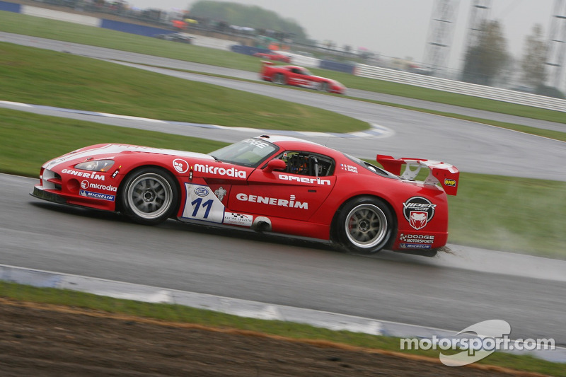 #11 Racing Logistic Dodge Viper Coupe: Steve Zacchia, Olivier Dupard