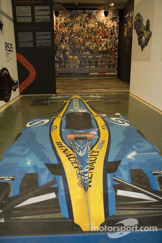 Exposition des 50 années de F1 en Espagne et les 15 ans du circuit de Catalogne