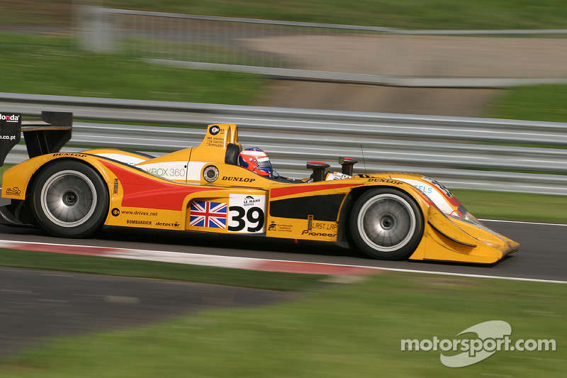 Exiting Pouhon - #39 Chamberlain - Synergy Motorsport Lola B05/40 - AER: Miguel Amaral, Miguel Angel Castro, Angel Burgueno