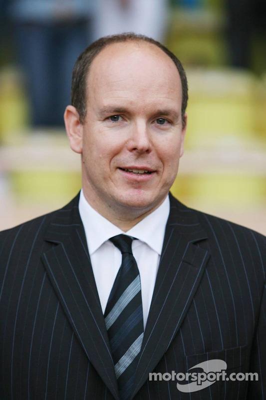 Match de football de charité: Prince Albert II de Monaco