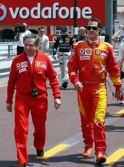 Michael Schumacher and Jean Todt