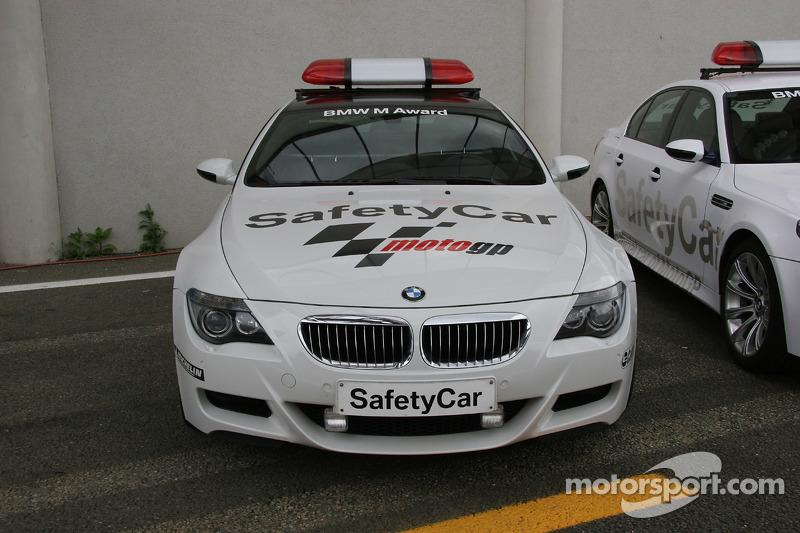 BMW M5 voiture de sécurité