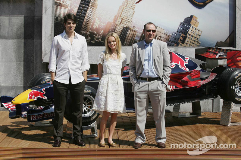 Actores Brandon Ruth, Kate Bosworth y Kevin Spacey