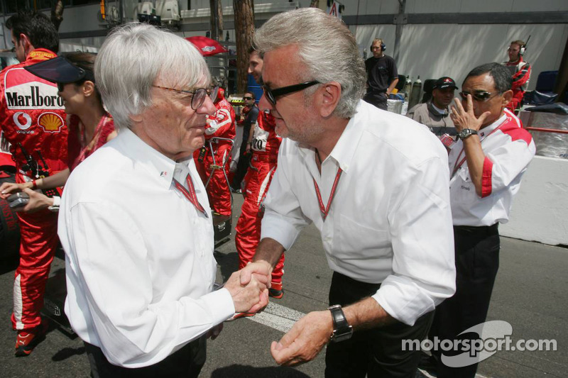 Bernie Ecclestone y Willi Weber