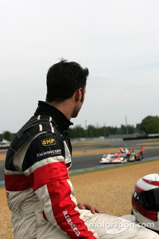 Gabriele Gardel du côté de la piste