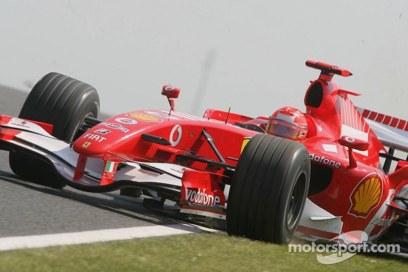 Michael Schumacheren problemas