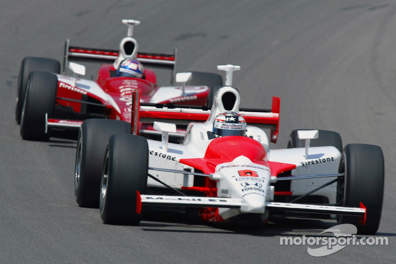 Sam Hornish Jr. et Scott Dixon