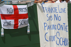 Signs for Michael Schumacher