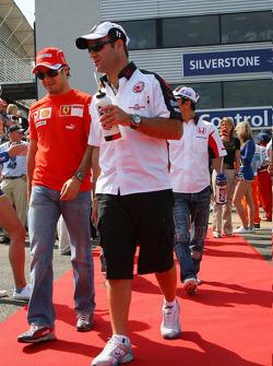 Felipe Massa y Rubens Barrichello