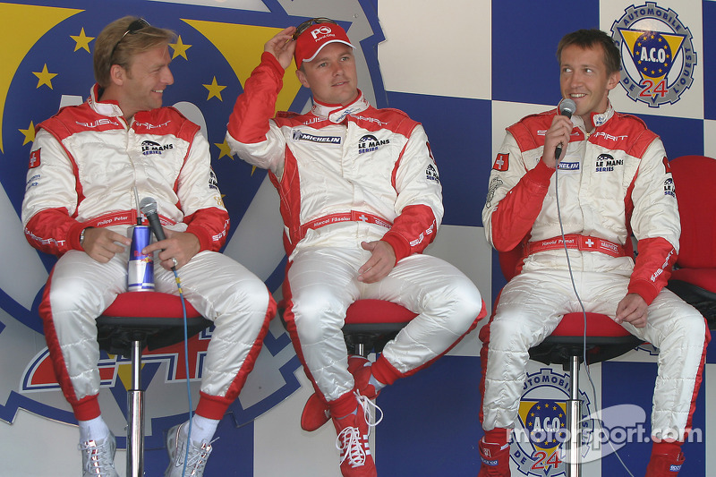 Philip Peter, Marcel Fassler and Harold Primat