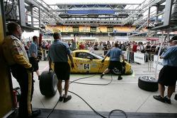 Entraînement aux arrêts au stand chez Corvette Racing