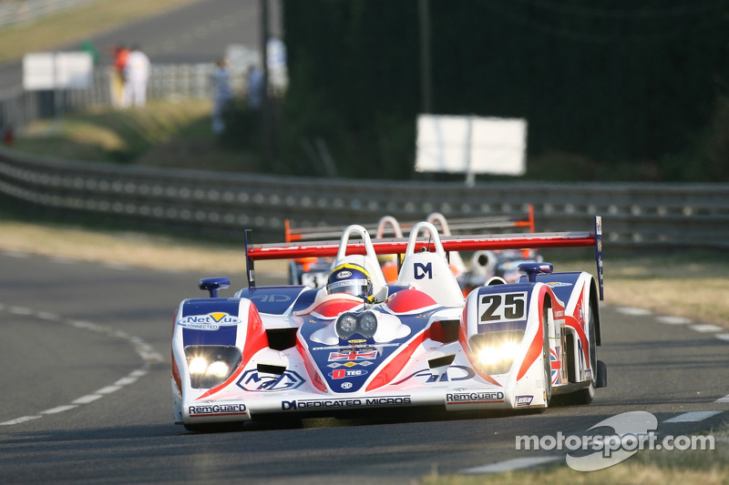 #25 RML MG Lola EX 264: Thomas Erdos, Mike Newton, Andy Wallace