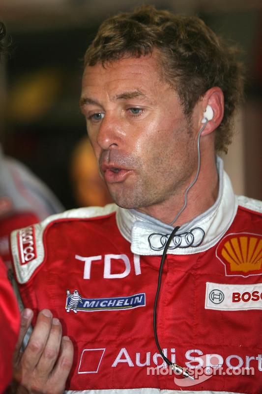 #7 Audi Sport Team Joest Audi R10 a des ennuis: Tom Kristensen