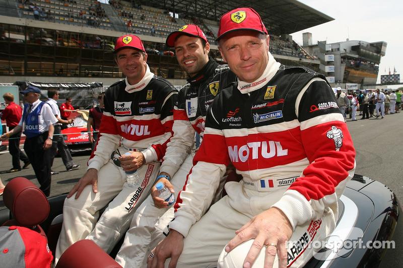 Patrick Bornhauser, Gabriele Gardel et Jean-Luc Blanchemain
