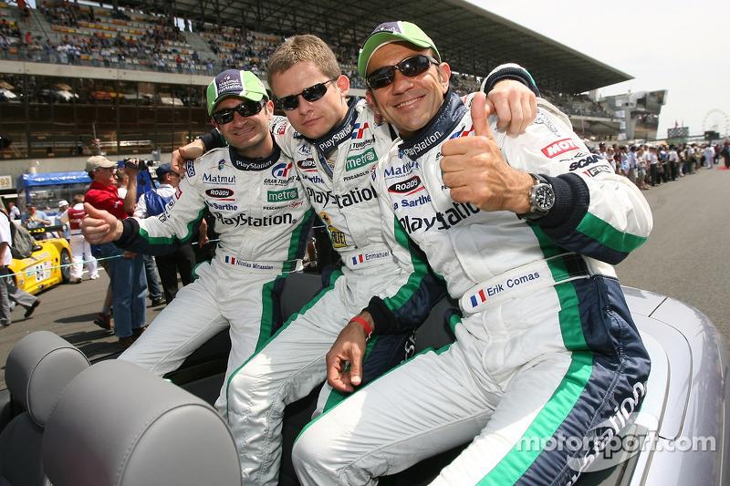 Nicolas Minassian, Emmanuel Collard and Erik Comas