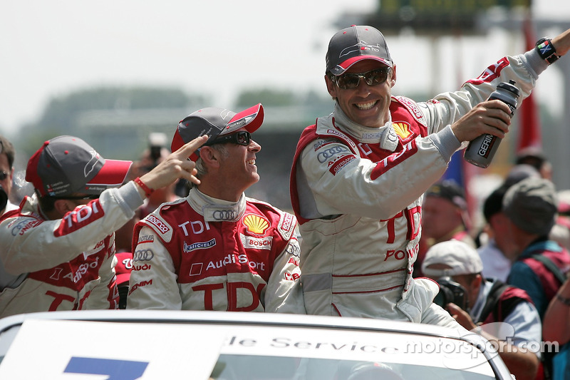 Allan McNish, Rinaldo Capello et Tom Kristensen