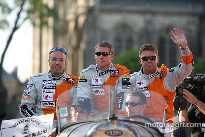 Tom Coronel, Peter Dumbreck et Donny Crevels