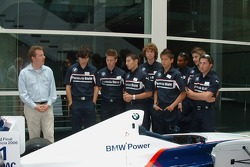 Formula BMW drivers