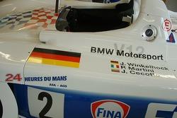 BMW V12 Le Mans 1998 on display