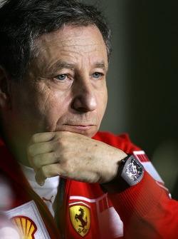 FIA press conference: Jean Todt