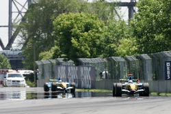 Formation lap: Fernando Alonso