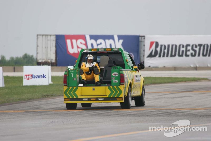 Un véhicule de sécurité Champ Car