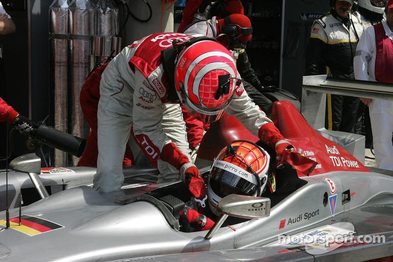 Changement de pilote pour la #8 Audi Sport Team Joest Audi R10