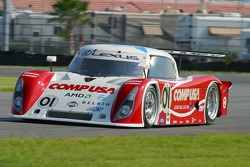 #01 CompUSA Chip Ganassi with Felix Sabates Lexus Riley: Scott Pruett, Luis Diaz