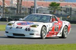 #46 Michael Baughman Racing Corvette: Michael Baughman, Bryan Collyer