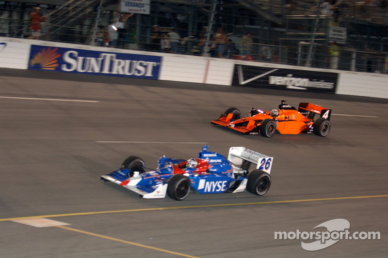 Marco Andretti et Vitor Meira