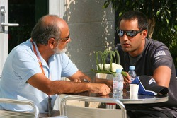Pablo Montoya with Juan Pablo Montoya