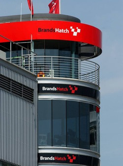 Control tower of the Brands Hatch circuit
