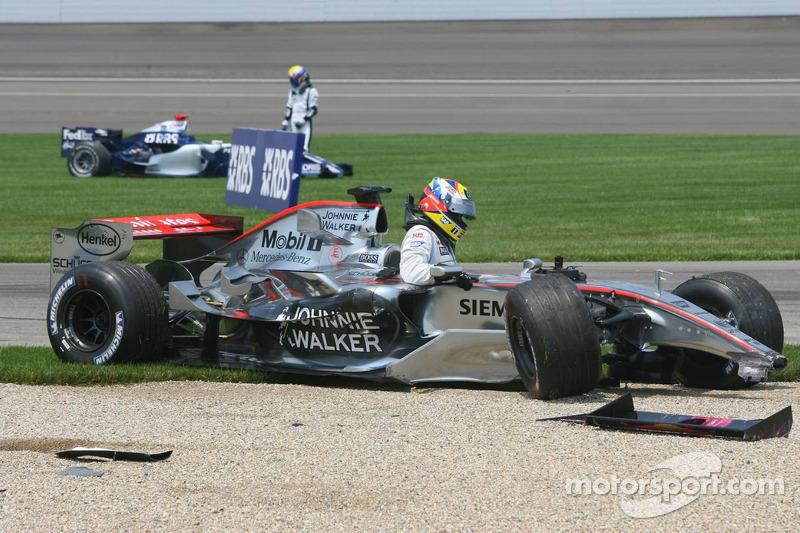 ... auch das Ende seiner Formel-1-Karriere.