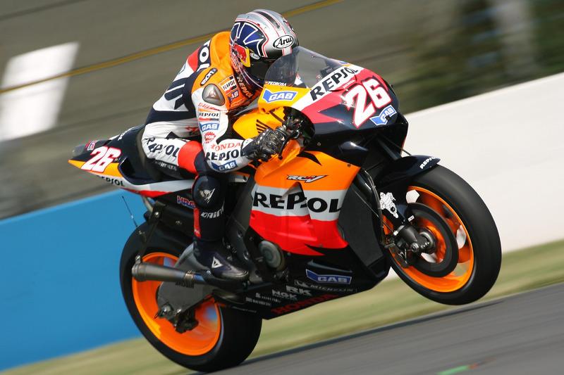 2006. Dani Pedrosa - Gran Premio de España - 2º