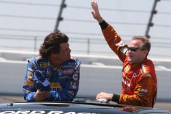 Michael Waltrip and Kenny Wallace