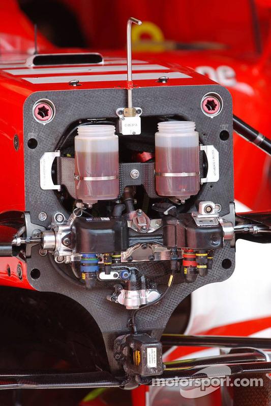 Frein et système de direction de la F2006 Ferrari