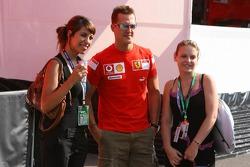 Michael Schumacher in charming company