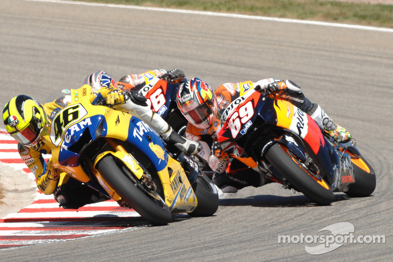 2006: Valentino Rossi, Nicky Hayden dan Dani Pedrosa