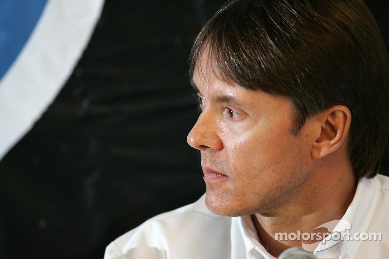 Presse de conférence d'Acura : Adrian Fernandez