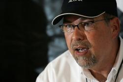 Acura press conference: Robert Clarke