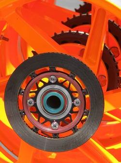 Las ruedas de Nicky Hayden Honda RC211V