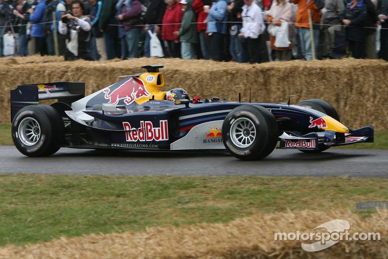 Red Bull Cosworth RB1: Christian Klien