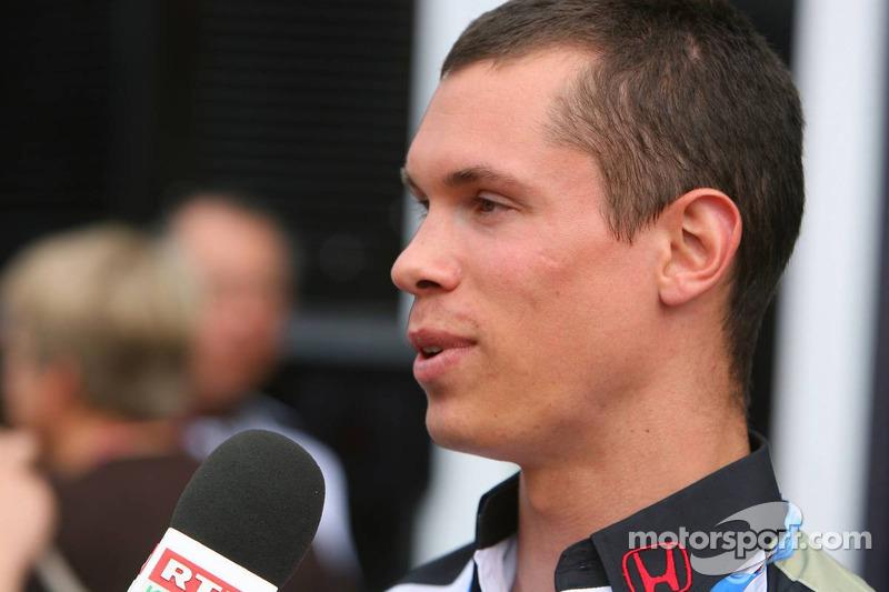 Alan van der Merwe, Bonneville 400 Driver, le pilote d'essai Honda