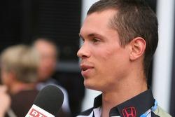 Alan van der Merwe, Bonneville 400 Driver, and Honda test driver