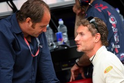 Gerhard Berger and David Coulthard