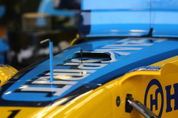 Small air intake on the front of the Renault R26