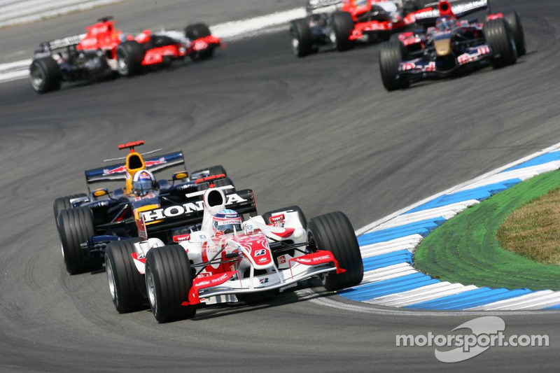 Takuma Sato ve David Coulthard