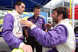 Max Papis and Christian Fittipaldi